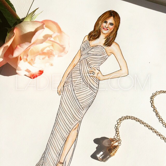 Jennifer Aniston Watercolor